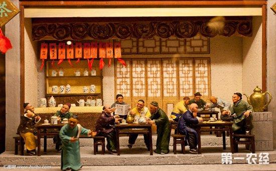 人们来了,喝茶,谈事,交流,是我国传统文化的一个特色之处,茶馆在古代