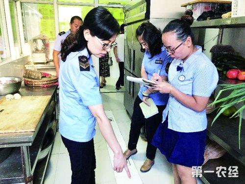 河南省食药监局加强学校食品监管 排查安全隐患保障学生舌尖安全