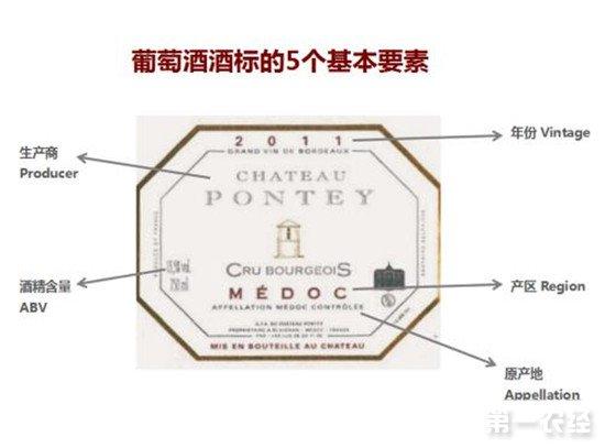 怎么看一款进口葡萄酒的酒标?葡萄酒酒标的几个要点