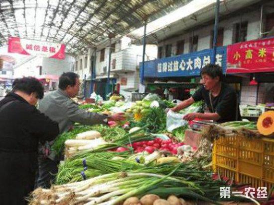 陕西咸阳市菜蛋烟酒各类商品价格齐走高