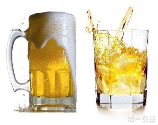 白酒对啤酒