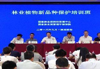 <b>西安:举办林业植物新品种保护培训班</b>