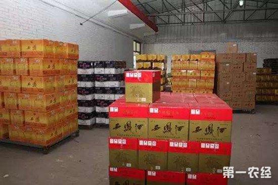 江苏泰州查获特大假酒案 抓获涉案人员114人