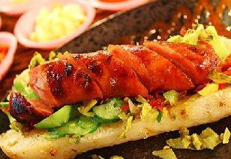 台湾著名小吃--大肠包小肠