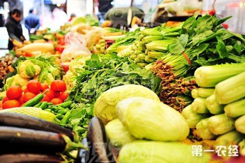 气温不断下降 太原蔬菜价格上涨