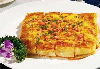 湖北武汉传统小吃——三鲜豆皮