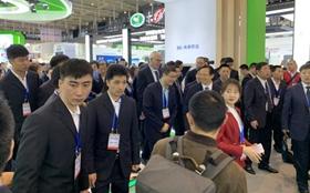"""<b>中国移动参加""""双新双创""""博览会展示农村信息化建设成果</b>"""