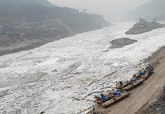黄河山东段已进入凌汛期 目前已启动防凌工作机制