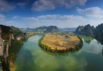 广西上金乡:依托丰富的旅游资源 打造特色旅游小镇