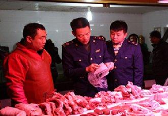 <b>安徽六安市进行肉制品36批次抽检 不合格2批次</b>