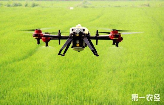 河南西华无人机大展身手 机械化让农业生产效率更上一层楼