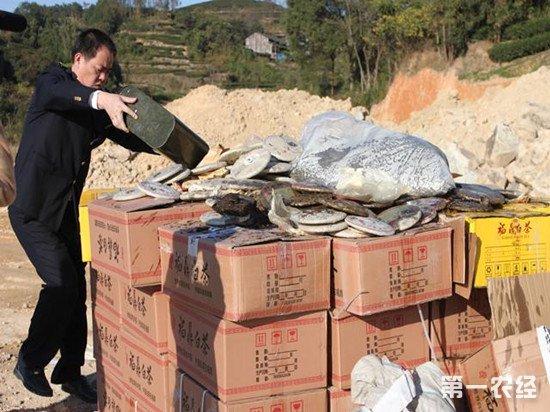 上海警方破获一起特大假冒伪劣茶叶案 涉案金额1.3亿元