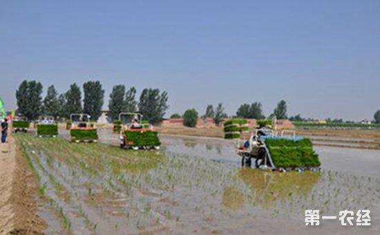水稻生产全程机械化