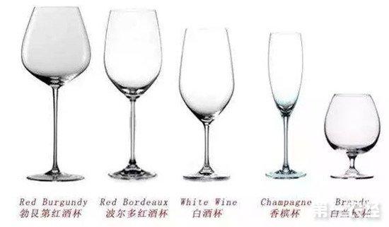 葡萄酒杯的形状有什么用途?