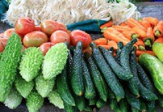 上海受阴雨天气影响 蔬菜肉类都出现普涨情况