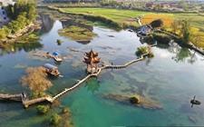 原生态田园风光让村庄更美丽 村民致富奔小康底气足