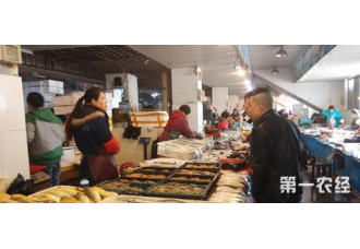 淡水鱼市场升温 威海水产品市场