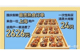 大闸蟹价格下降 消费者可以敞开吃?