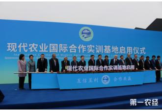 现代农业国际合作实训基地启动仪式在杨凌智慧农业示范园召开