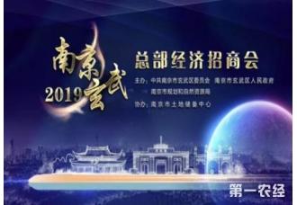 2019年南京市玄武区总部经济招商会在北京成功举办