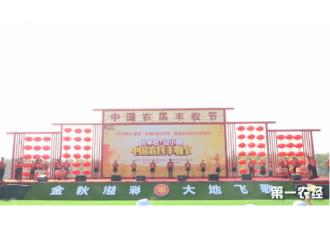 """2020亳州·蒙城""""中国农民丰收节""""正式开幕 特色农旅小镇迎八方游客"""